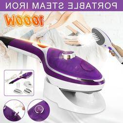 1000W Clothes Portable Steam Iron Home Handheld Fabric Laund