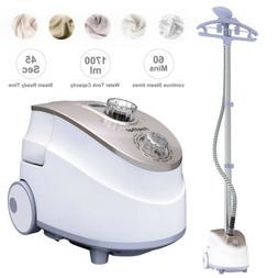 1350W Heavy Duty Stand Garment Clothes Iron Fabric Steamer W