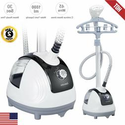 1350W Pro 2in1 Portable Standing Garment Steamer Clothes Fab