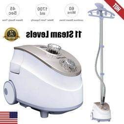1350W 11-Level 2in1 Portable Stand Garment Steamer Clothes F