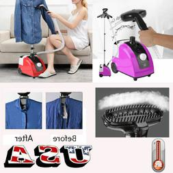 2Colors Portable Fabric Steamer Steam Iron Clothes Wrinkle R