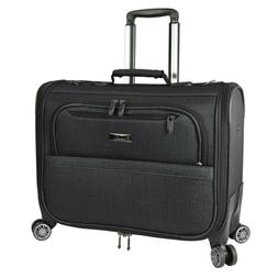 Spinner Garment Bag 21 in Carry On Charcoal 8 Wheels Removab