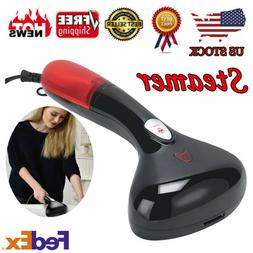 Black 1200W Garment Steamer 120ml Portable Handheld Steamer
