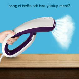 Clothes Garment Fabric Steamer Wrinkle Remove Home Travel Po