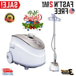 Clothes Garment Steamer Fabric Steam Iron Household Stand Ha