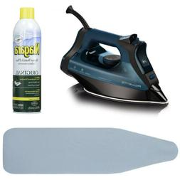 Rowenta Everlast DW7180 Steam Iron + Free Ironing Board Cove