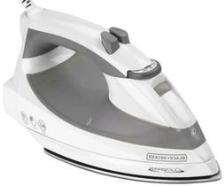 Black & Decker F976 GRY Quick Press Iron, Gray