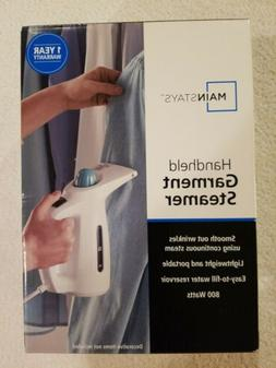 Mainstays Handheld Garment Steamer / 120V 800W With Fabric &