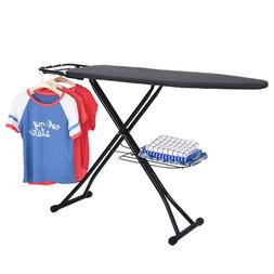 Home Collapsible Extra-Wide ironing Pro Board with Heavy-dut