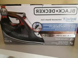BLACK+DECKER IMPACT Advanced Steam Iron, IR3010