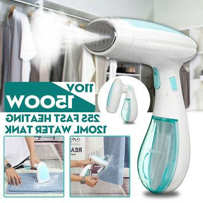 1500w 120ml foldable handheld fabric clothes steamer