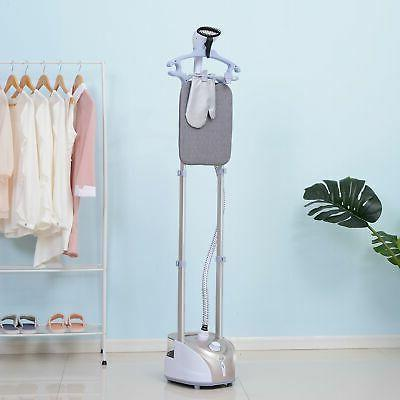 PRO 1350W Full-Size 2-Liter Upright Garment Steamer with Bui