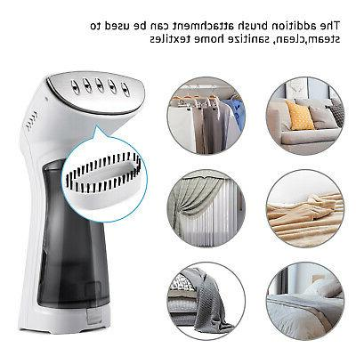 850W Fabric Steamer Garment Handheld Steamer 360°Anti-Drop US