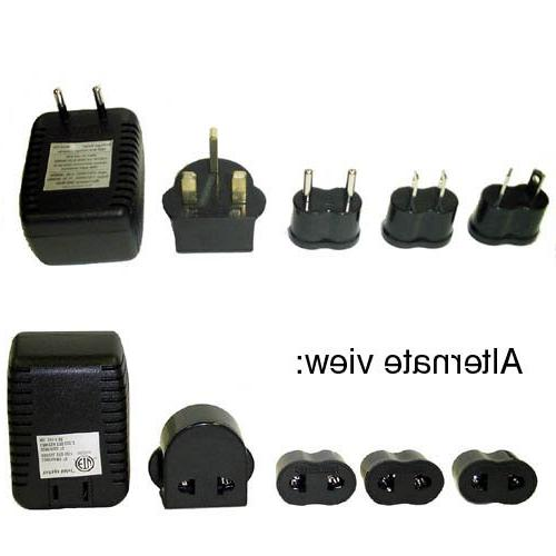 Jiffy Travel Voltage Converter and Adaptor Set for Jiffy Est