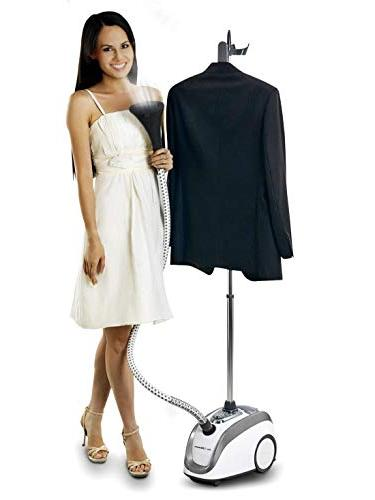 PurSteam Official Partner of Fashion Full Size Steamer Clothes, Garments, Fabric Professional Heavy Duty - 4 Perfect
