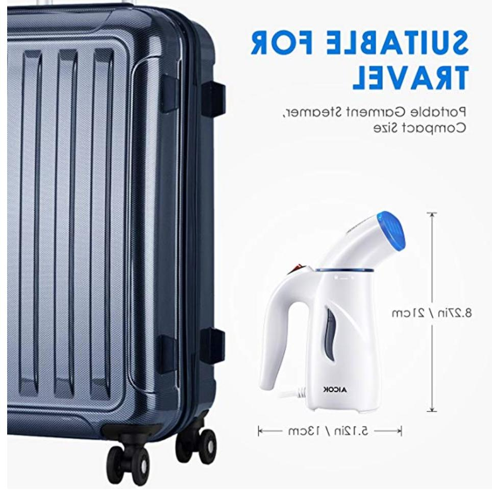 Clothes Travel Garment Fabric Steamer wrinkle