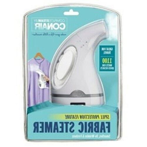 Conair Complete Steam Fabric Steamer Great For Travel