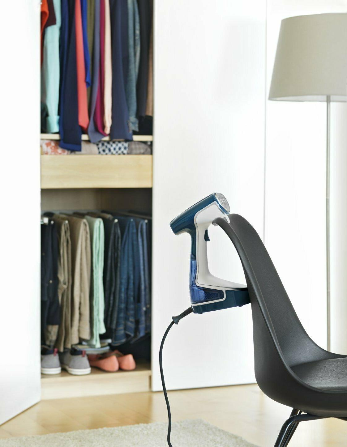 Rowenta DR8080 Handheld Garment and Fabric Steamer Stainless Steel