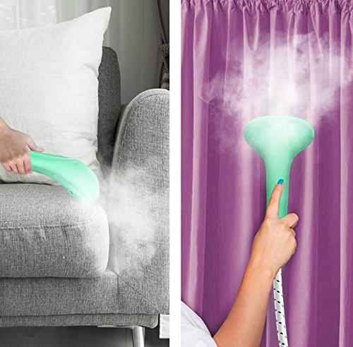 PurSteam Size Fabric Steamer Professional Duty 2.5 Liter Water Tank Over Steam with 4 Steam Adjustment