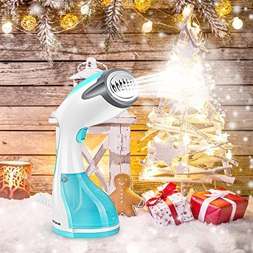Beautural Steamer for 1200-Watt Handheld Garment Steamers, Wrinkle and Heat-up, 260ml Capacity Home