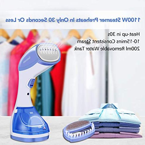 Godmorn 1100w Wrinkle Remover, Adjustable for 100% Capacity for and