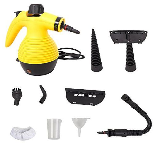 handheld steam cleaner multipurpose device