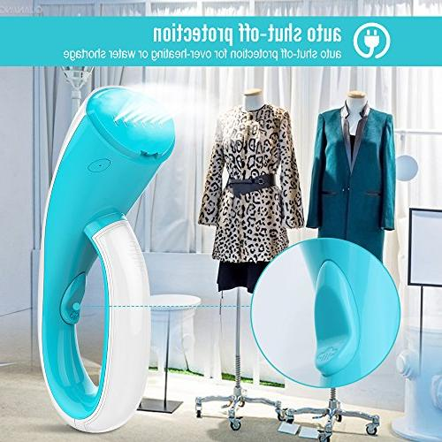 OXA Handheld Steamer, Fast with Brushes, Clothes Steamer Lightweight Perfect Travel &