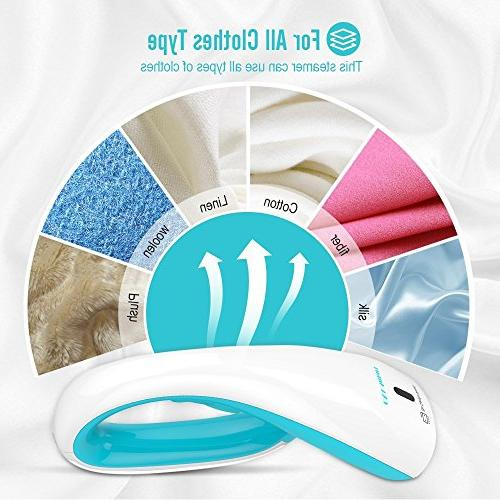 OXA Smart Ultra-Compact Handheld Steamer, 20s Fast Steaming Brushes, Clothes Steamer – Lightweight Travel