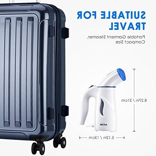 Garment Steamer, Fast Heat Clothes 4-in-1 Powerful Wrinkle for Ironing, Fabric