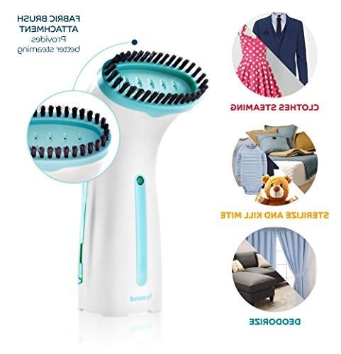 BIZOND Steamer for Travel and Portable, Steamer Garment No Spitting, and Little Mini for Curtain Accessories,