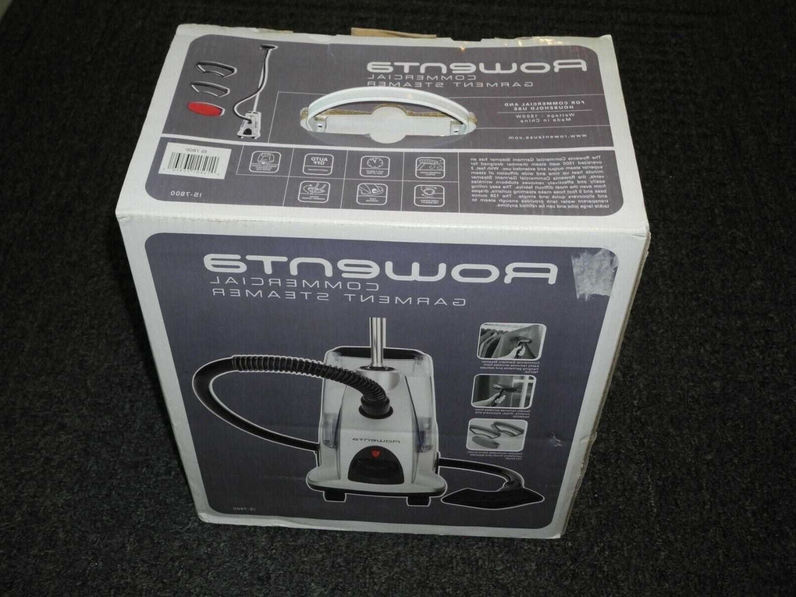 new in box is 7800 commercial garment