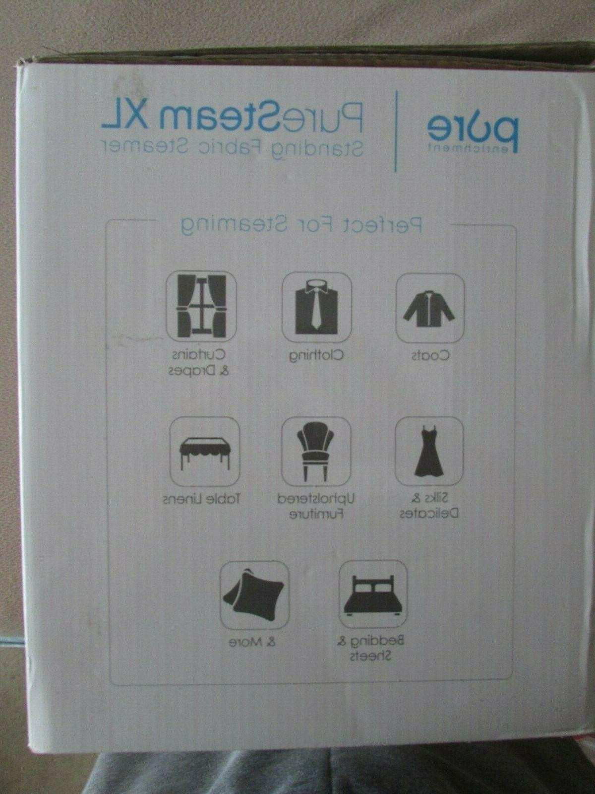 STANDING FABRIC STEAMER CURTAINS CLOTHES FURNITURE