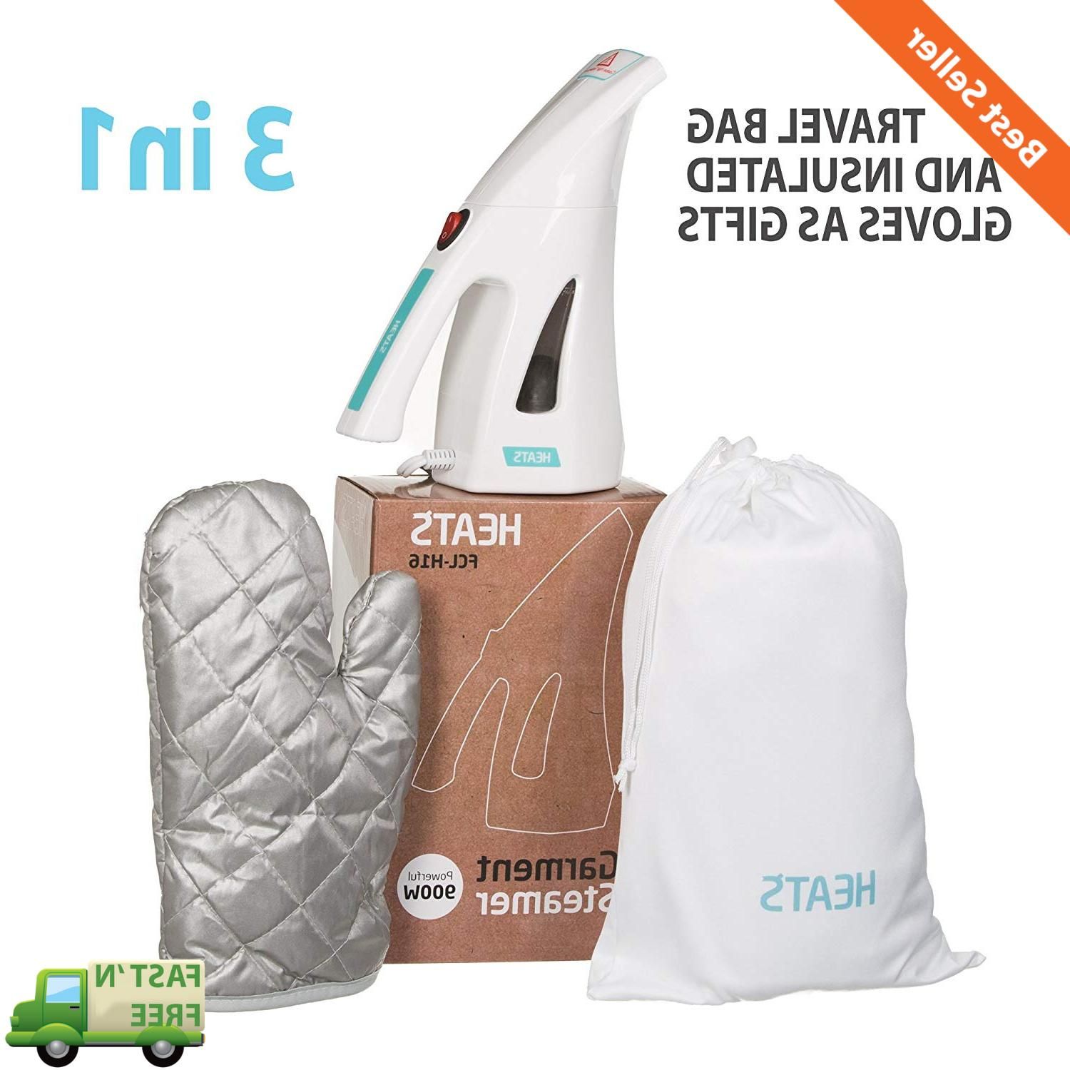 portable travel garment steamer clothes and fabric