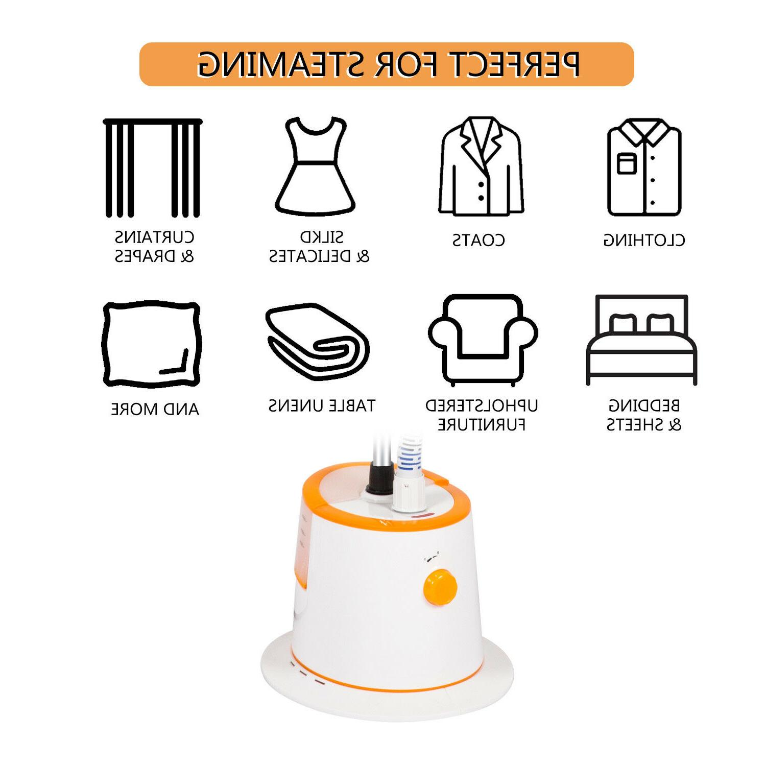 1500ml Professional Fabric Clothing Steamer Hanger