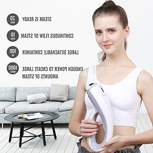 OXA Garment Ultra-Compact, 20s Fast Steaming Brushes, Fabric Steamer Safe, Lightweight Travel