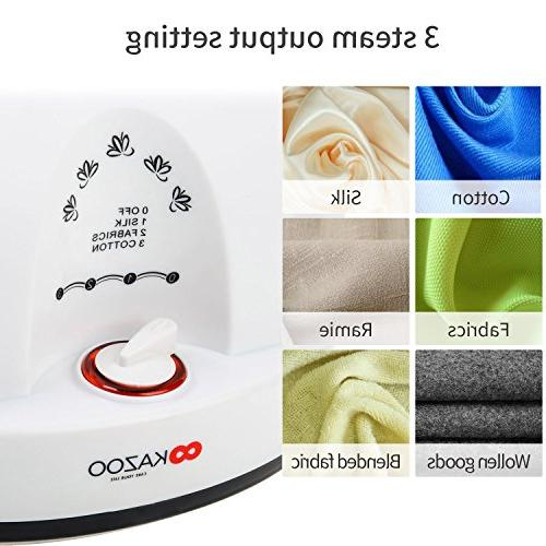 Ainfox Steamer, 1200ml Cloth Household Use Wrinkle Remover Clothes Fabric Portable with Orange
