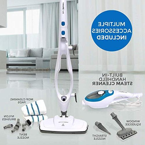 Steam 10-in-1 with Convenient Handheld Unit, - Garment - Steamer Whole House by