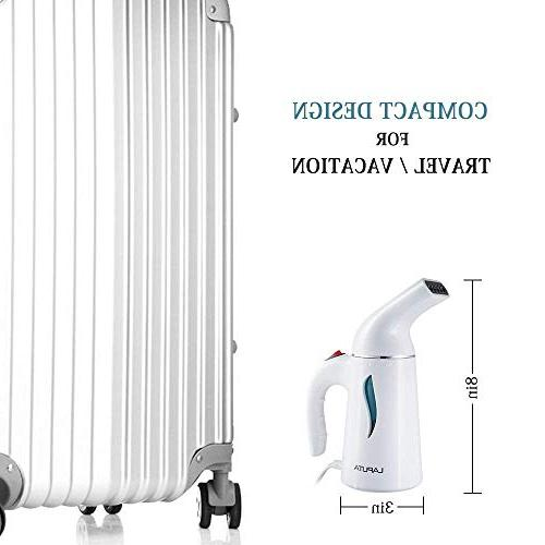 Steamer Clothes Powerful, Travel and Handheld Steamer, Seconds Fabric with Protection