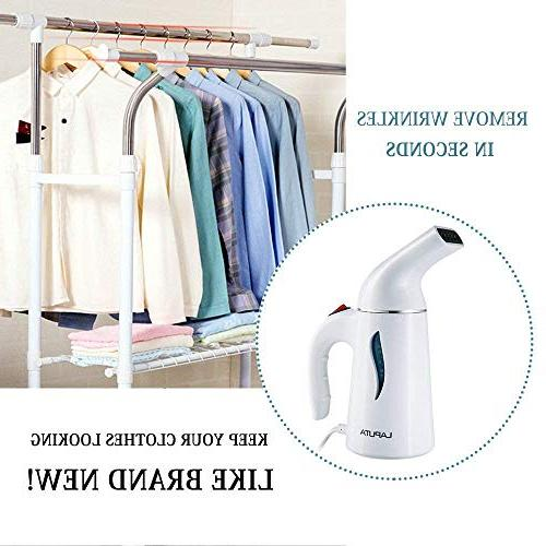 Steamer Powerful, and Handheld Seconds Heat-Up, Steamer with Automatic Protection