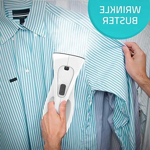 Steamer Clothes 7-in-1 Clothes Portable Remover-Clean-Sterilize-Sanitize-Refresh-Treat-Defrost