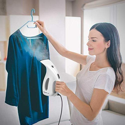 Steamer for Clothes 7-in-1 Powerful Multi Clothes Fabric Remover-Clean-Sterilize-Sanitize-Refresh-Treat-Defrost Garment/Home/Kitchen/Bathroom/Car/Travel
