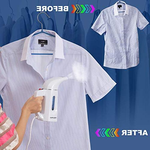 Clothes Steamer for and Wrinkle Remove, Sanitize, Refresh, Treat and Defrost