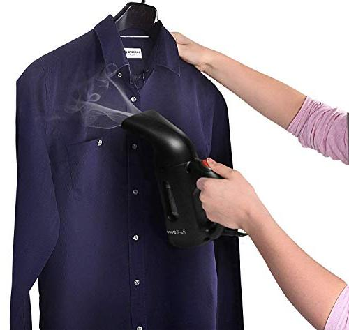 PurSteam Newest Steamer Clothes, Premium Powerful Multi-Use Handheld Garment Steamer, for Home and