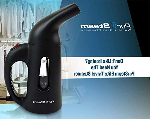 PurSteam Newest Clothes, Powerful Handheld Garment Steamer, for