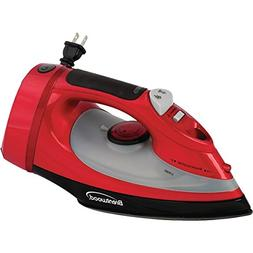 Brentwood MPI-58 Steam Iron with Chord Storage - Red