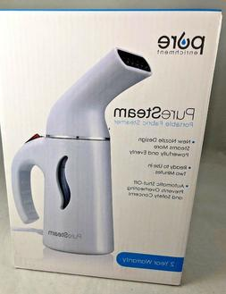 PureSteam Portable Fabric Steamer  - Powerful, Fast-Heating,