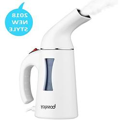 BOSSJOY Clothes Steamer, 130ml Portable Handheld Fast heat F