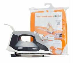Oliso TG1100 Smart Steam Iron & Ironing Board Cover new elec